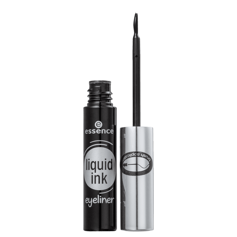 Essence Liquid Ink 01 Black - Delineador Líquido 3ml