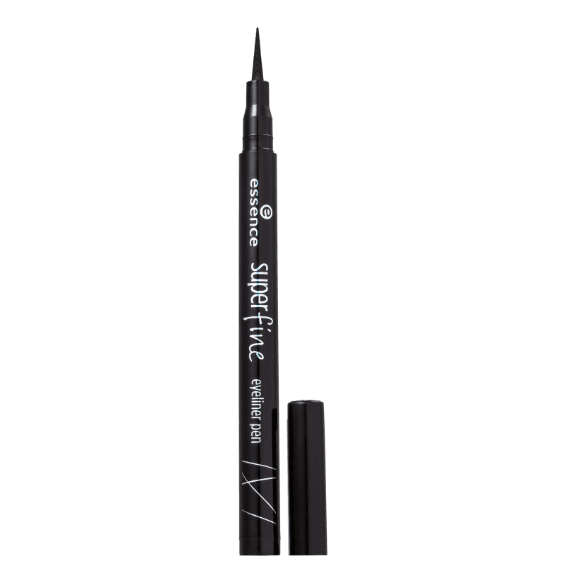 Essence Superfine 01 Deep Black - Caneta Delineadora