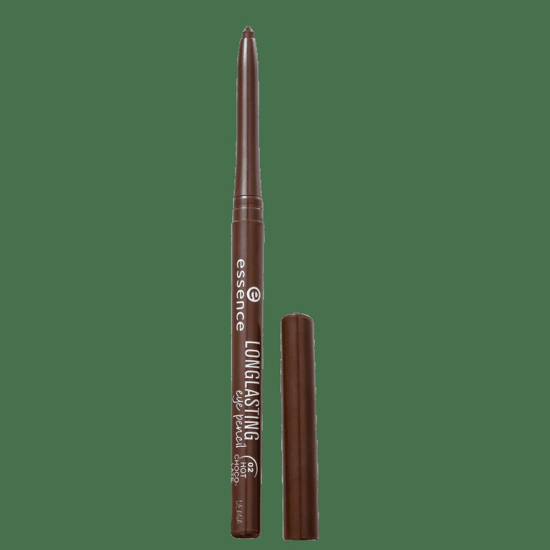 Essence Longlasting 02 Hot Chocolate - Lápis de Olho 0,28g