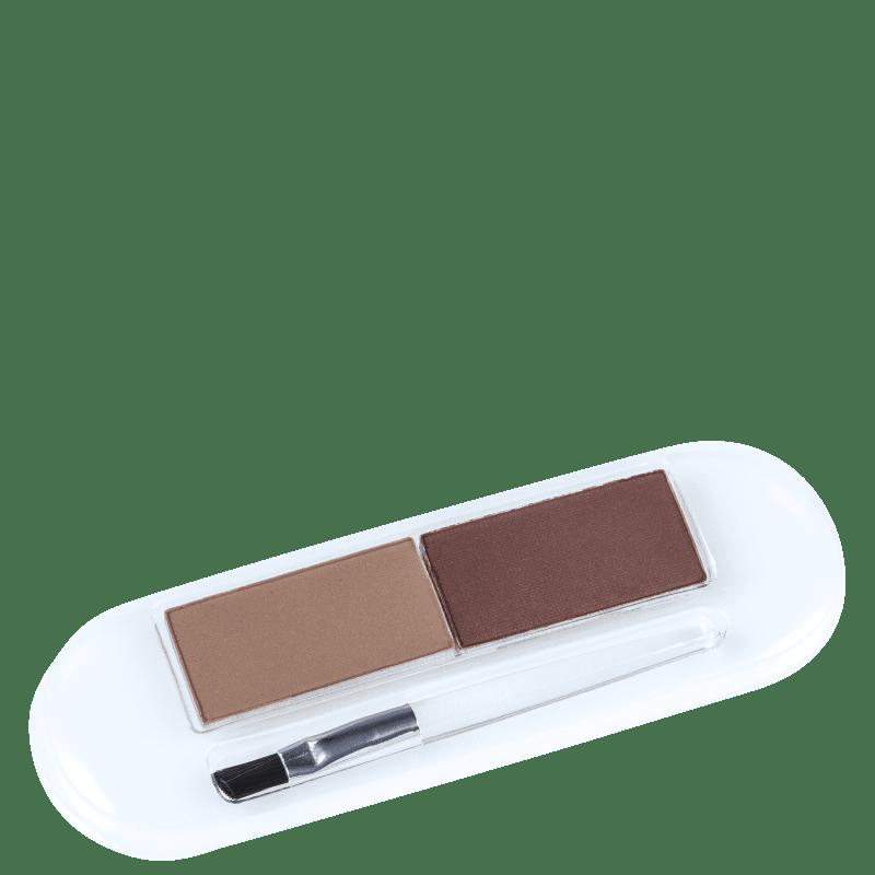 Essence Eyebrow Styling Set 01 Natural Brunette Style - Paleta para Sobrancelha 2g