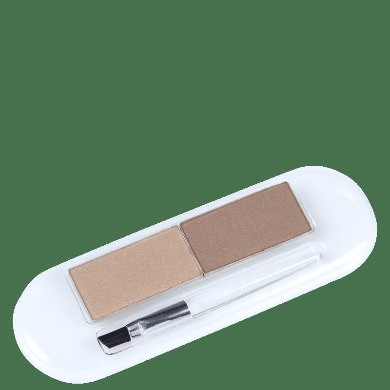 Essence Eyebrow Styling Set 02 Natural Blonde Style - Paleta para Sobrancelha 2g
