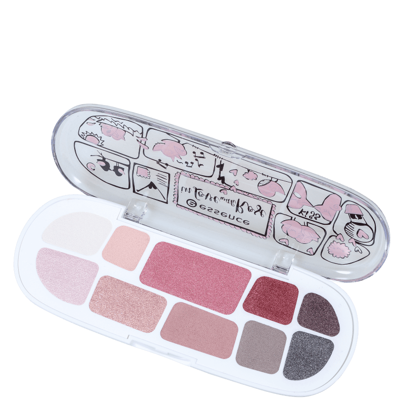 Essence In Love With Rose 02 & Happily Ever After - Paleta de Sombras 7g