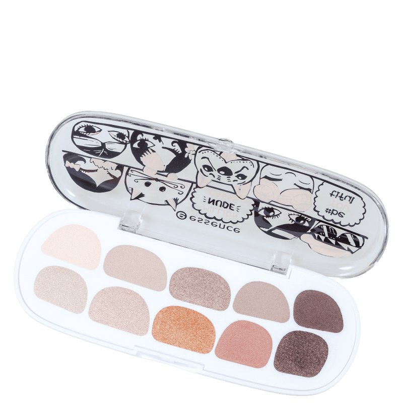 Essence Million Nude Faces 01 #beYOUtiful - Paleta de Sombras 7g
