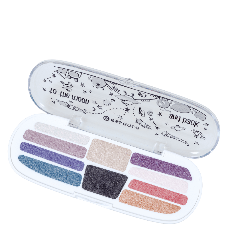 Essence To The Moon and Back 04 One Way Only - Paleta de Sombras 7g