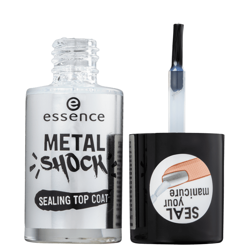Essence Metal Shock Sealing - Finalizador para Esmalte 8ml