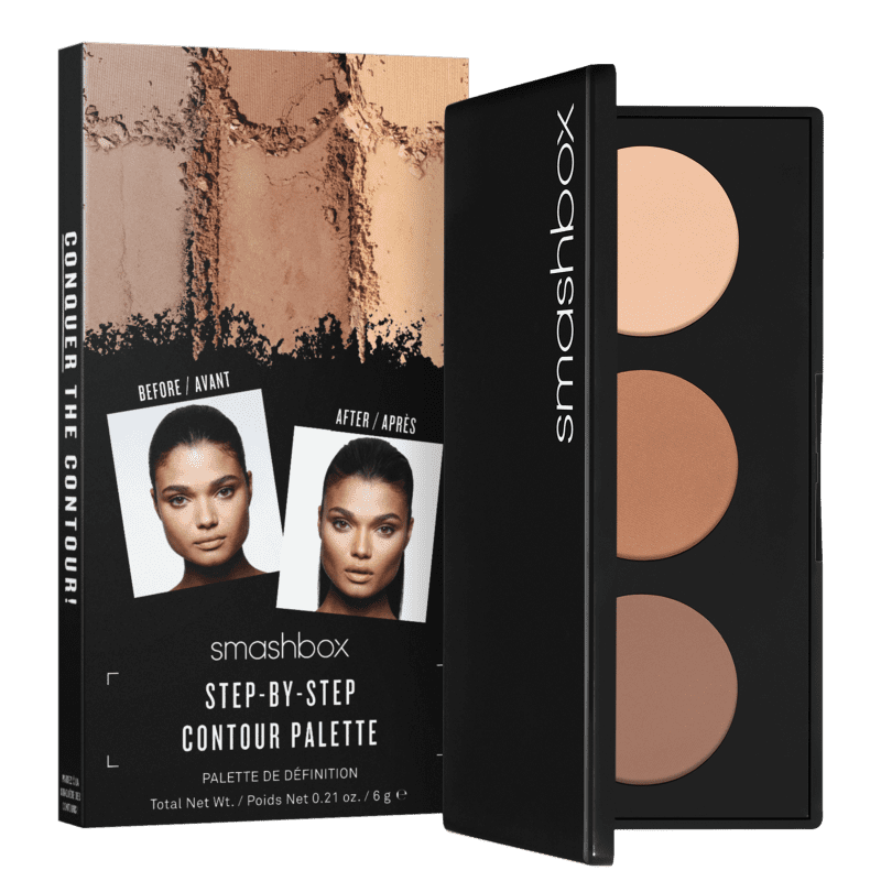 Smashbox Step-By-Step Contour Travel - Paleta de Contorno