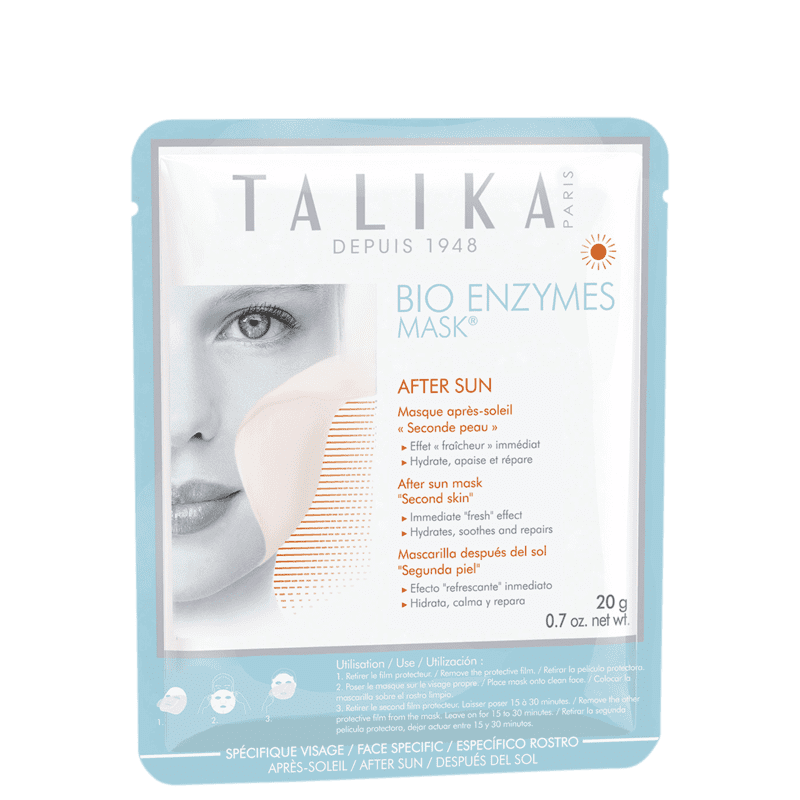Talika Bio Enzymes After Sun - Máscara Facial 20g