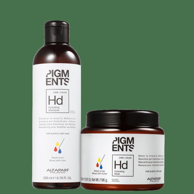 Kit Alfaparf Pigments Hydrating Duo (2 Produtos)