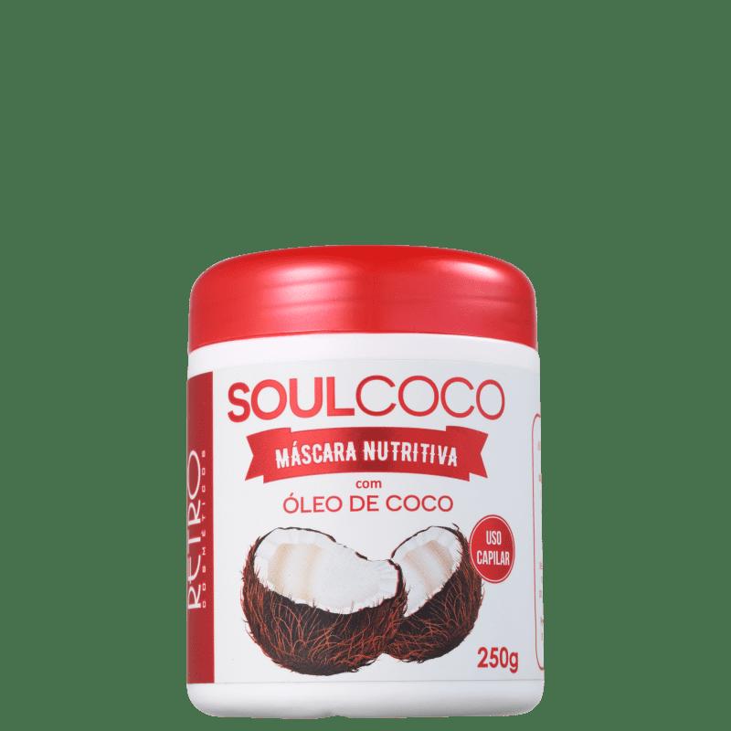 Retrô Cosméticos Soul Coco - Máscara de Nutrição 250g