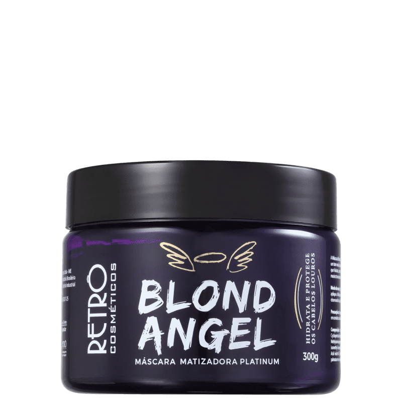 Retrô Cosméticos Blond Angel - Máscara Matizadora 300g