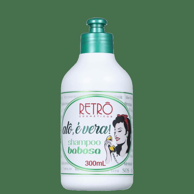 Retrô Cosméticos Alô, É Vera! Babosa - Shampoo 300ml