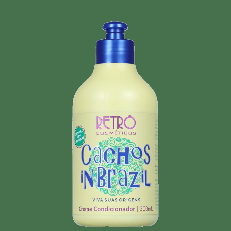 Retrô Cosméticos Cachos In Brazil - Condicionador Multifuncional 300ml