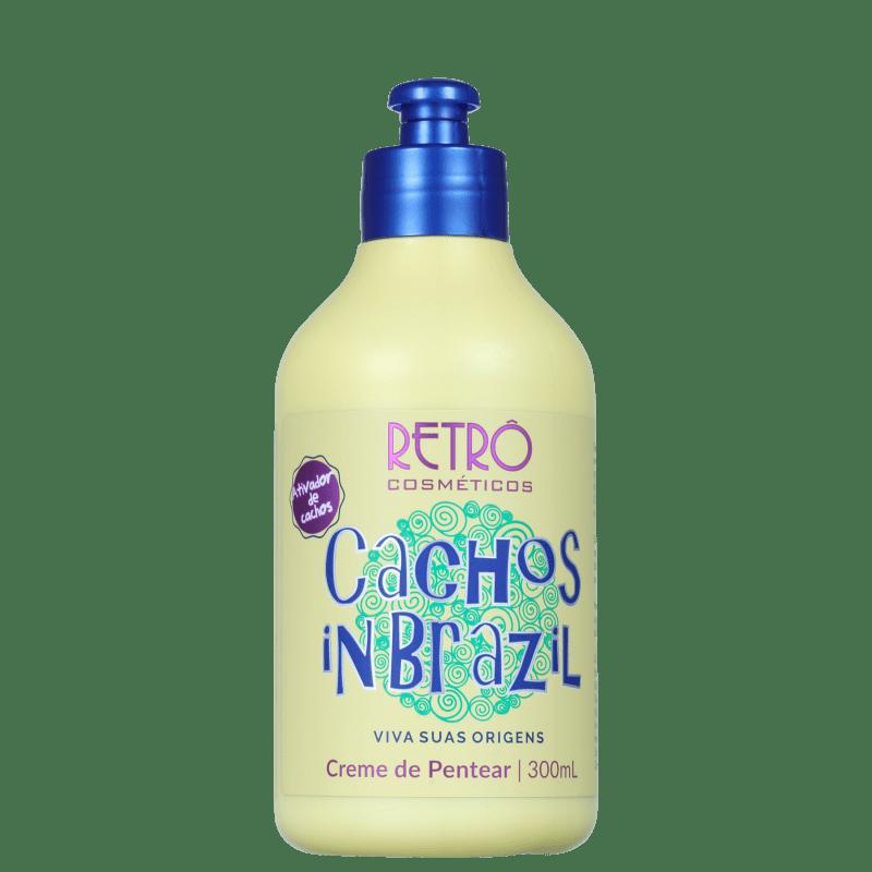 Retrô Cosméticos Cachos In Brazil - Creme de Pentear 300ml