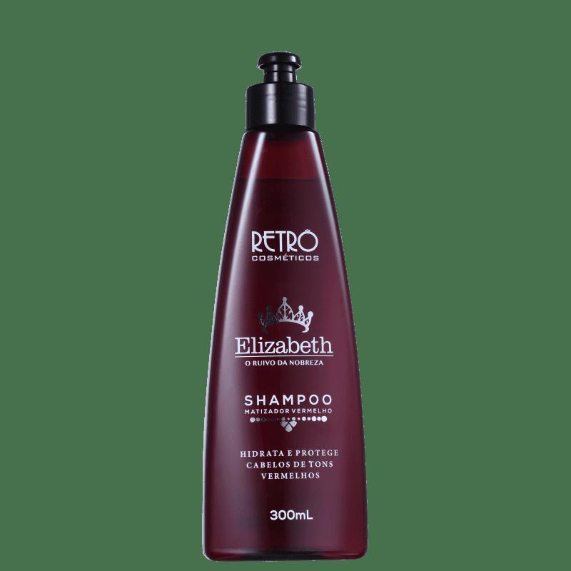 Retrô Cosméticos Red Elizabeth - Shampoo Matizador 300ml