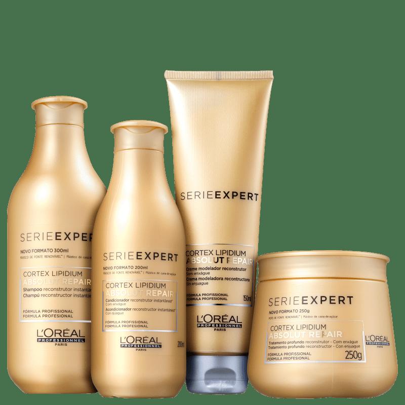 Kit L'Oréal Professionnel Absolut Repair Lipidium Full (4 Produtos)
