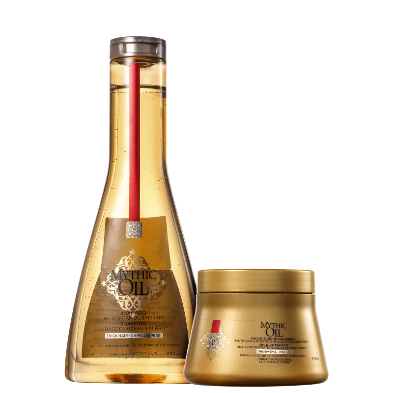 Kit L'Oréal Professionnel Mythic Oil Treat (2 Produtos)