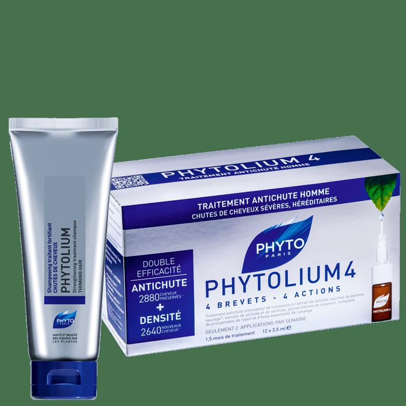 Kit PHYTO Phytolium 4 (2 Produtos)