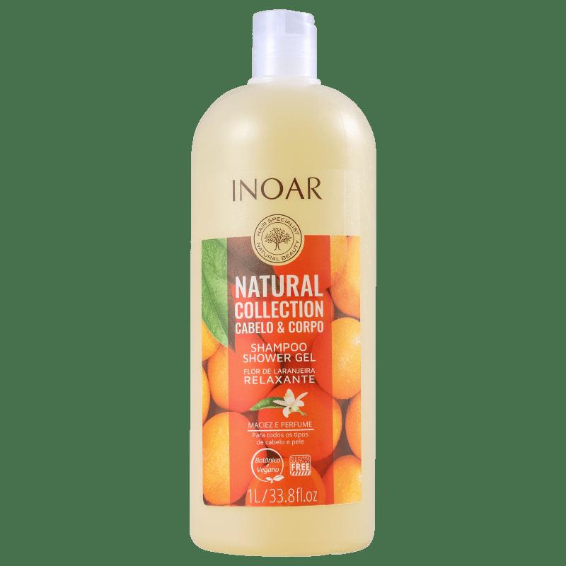 Inoar Natural Collection Cabelo & Corpo - Shampoo 2 em 1 1000ml
