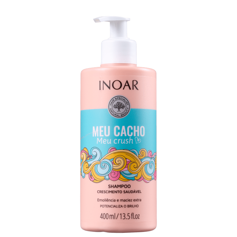 Inoar Meu Cacho, Meu Crush - Shampoo 400ml