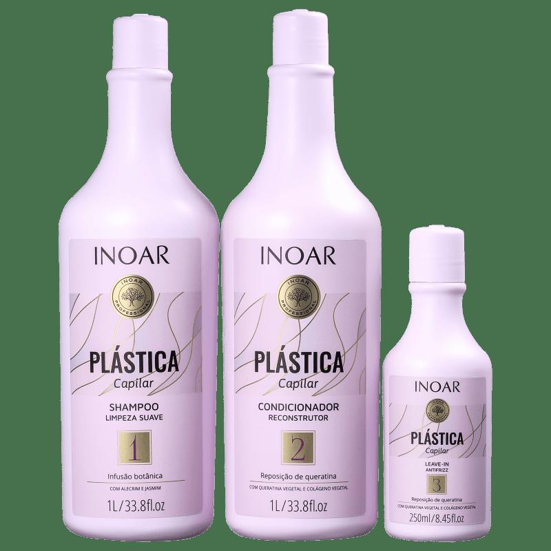 Kit Inoar Plástica Capilar (3 Produtos)