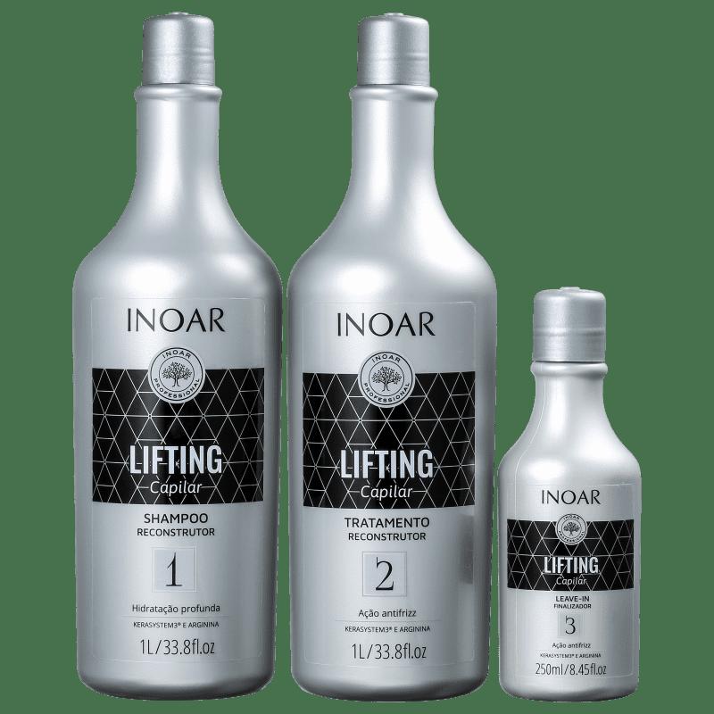 Kit Inoar Lifting Capilar (3 Produtos)