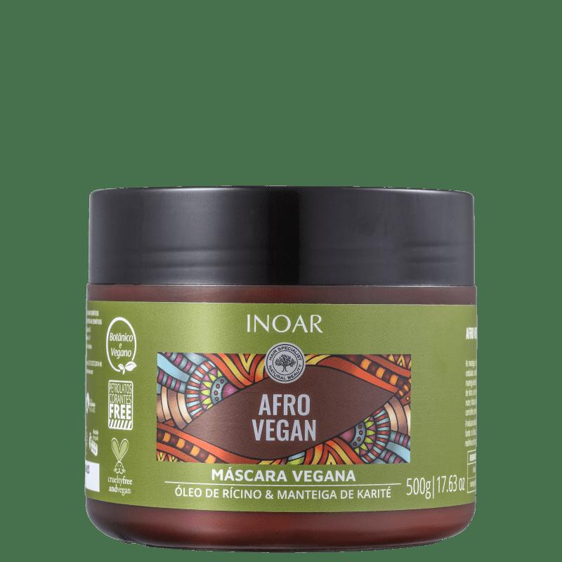 Inoar Afro Vegan - Máscara Capilar 500g
