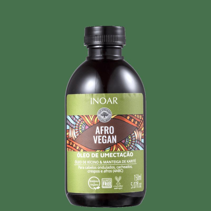 Inoar Afro Vegan - Óleo Capilar 150ml