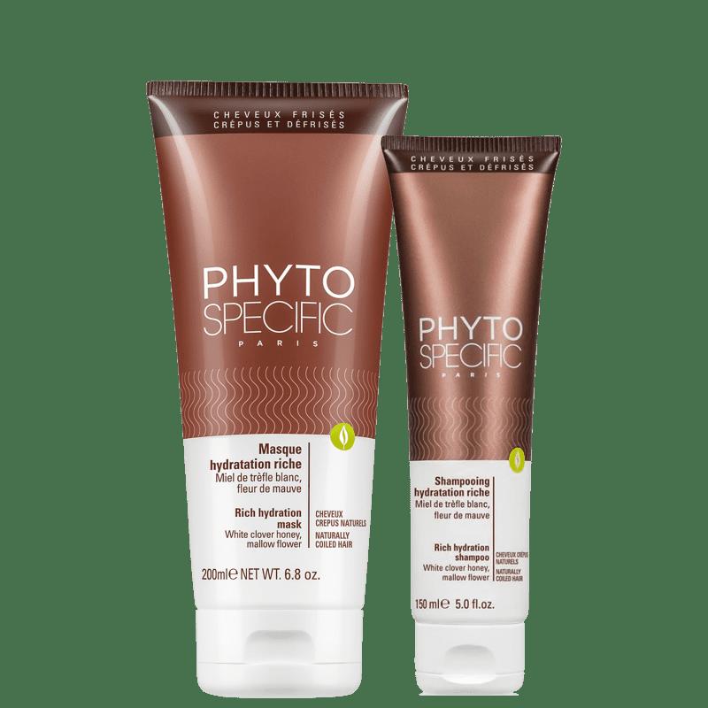 Kit PHYTO Phytospecific Hydratation Riche Duo (2 Produtos)