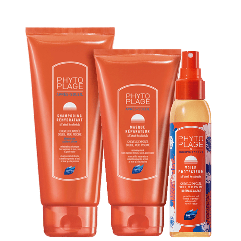 Kit PHYTO Phytoplage Voile (3 Produtos)