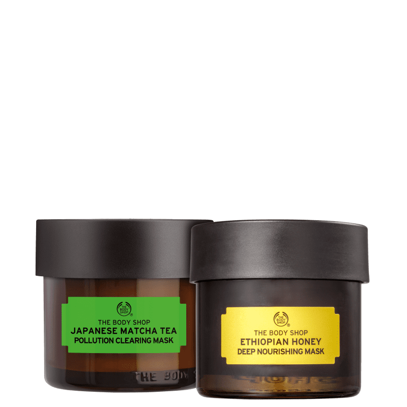Kit The Body Shop Mel e Matcha Tea (2 Produtos)