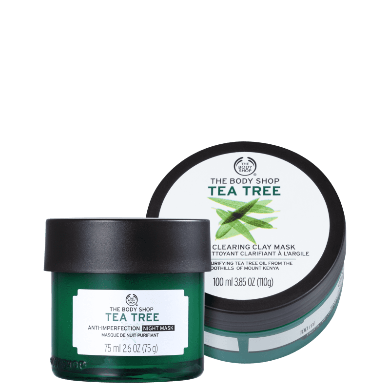 Kit The Body Shop Tea Tree Máscaras (2 Produtos)