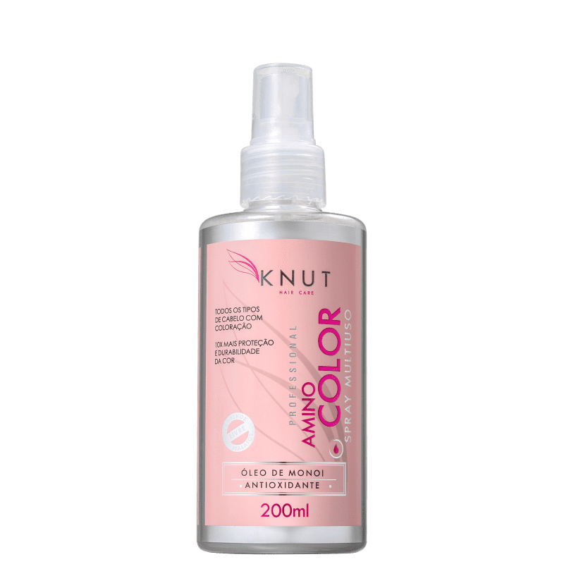 Knut Amino Color - Spray Leave-In Multifuncional 200ml