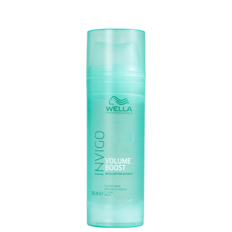 Wella Professionals Invigo Volume Boost Crystal - Máscara Capilar 145ml