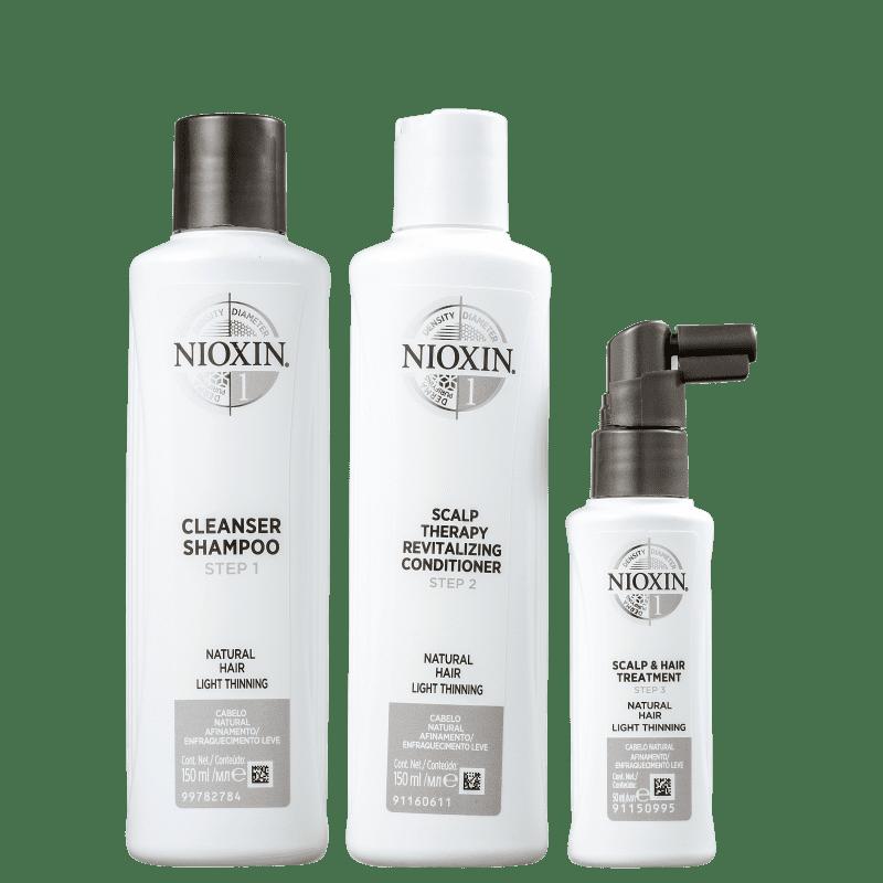 Kit Nioxin System 1 Small (3 Produtos)