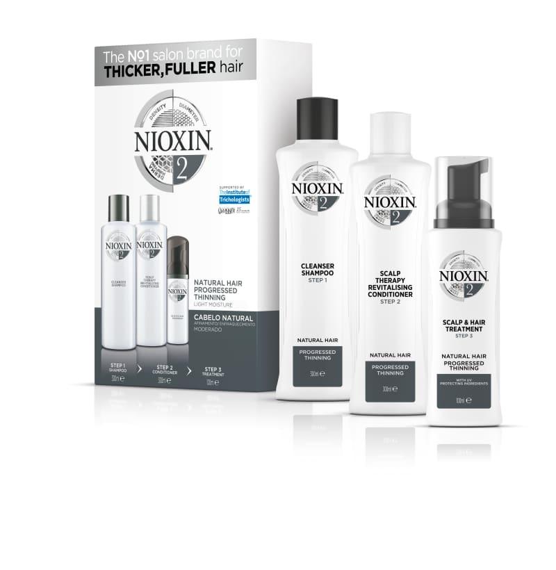 Nioxin Sistema 2 Kit De Tratamento Loyalty - Grande (3 Produtos)