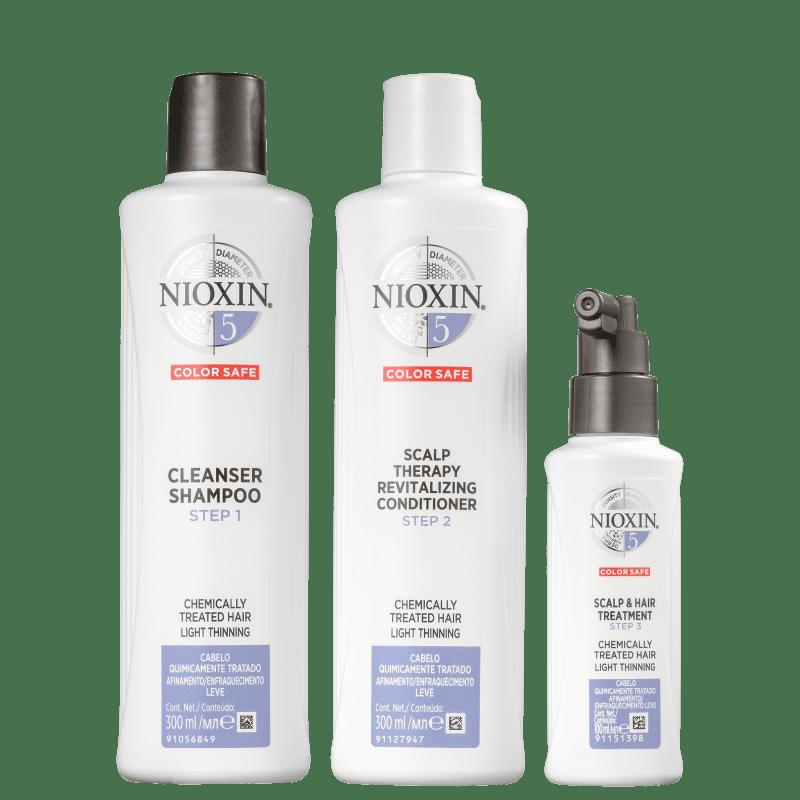 Kit Nioxin System 5 (3 Produtos)