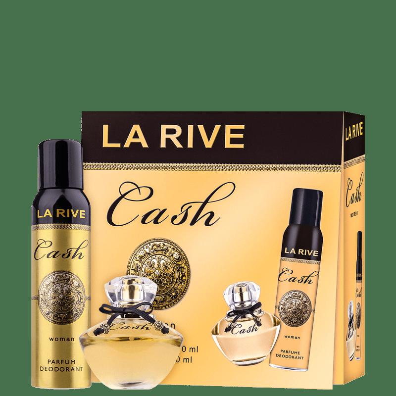 Conjunto Cash Woman La Rive Feminino - Eau de Parfum 90ml + Desodorante 150ml
