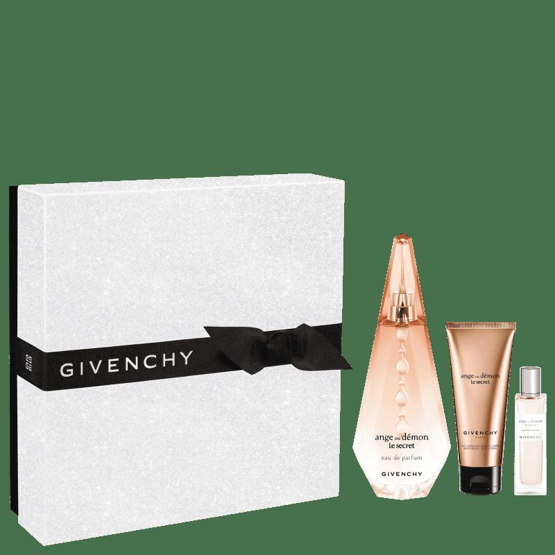 Conjunto Ange ou Démon Le Secret Double Givenchy Feminino - Eau de Parfum 100ml + Travel Size 15ml + Loção Corporal 75ml