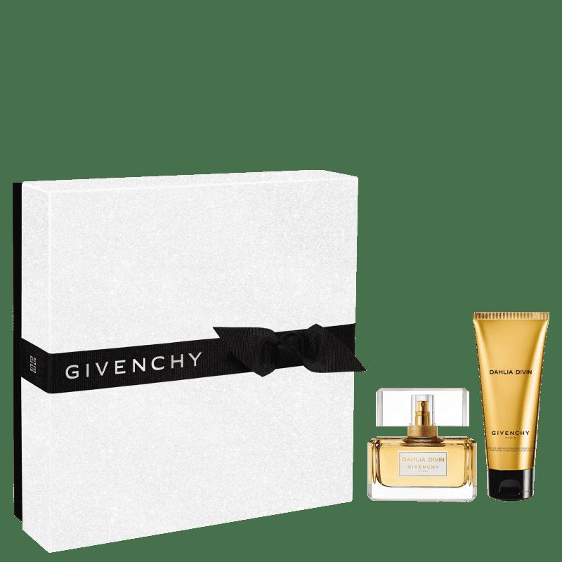 Conjunto Dahlia Divin Skin Dew Givenchy Feminino - Eau de Parfum 50ml + Loção Corporal 75ml
