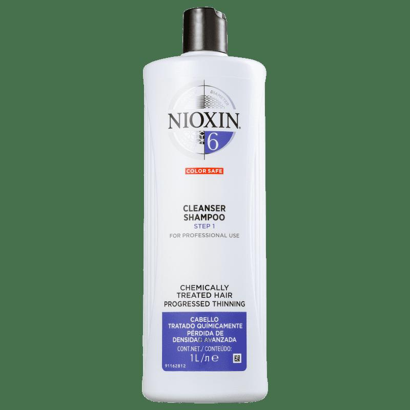 Nioxin System 6 Cleanser - Shampoo 1000ml