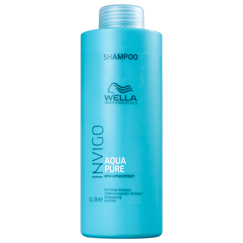 Wella Professionals Invigo Balance Acqua Pure - Shampoo Antirresíduos 1000ml