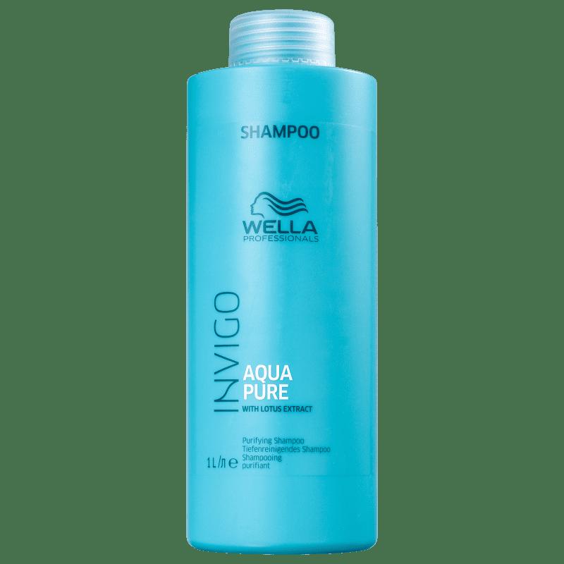 Wella Professionals Invigo Balance Acqua Pure - Shampoo Antirresíduos 1000ml