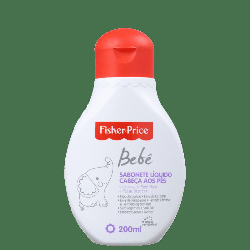 Fisher-Price Bebê Cabeça aos Pés - Sabonete Líquido 200ml