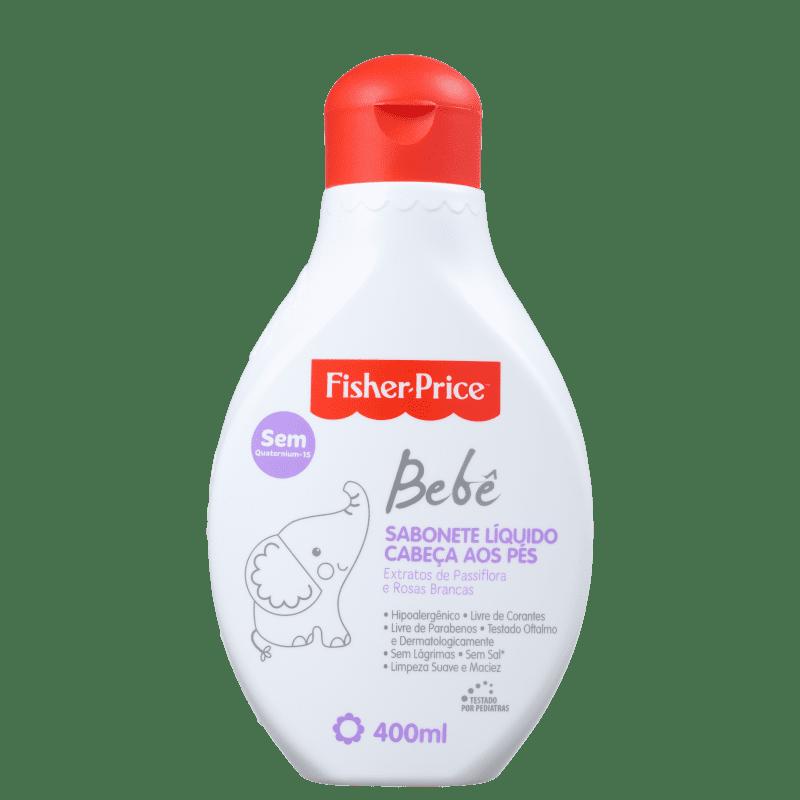 Fisher-Price Bebê Cabeça aos Pés - Sabonete Líquido 400ml