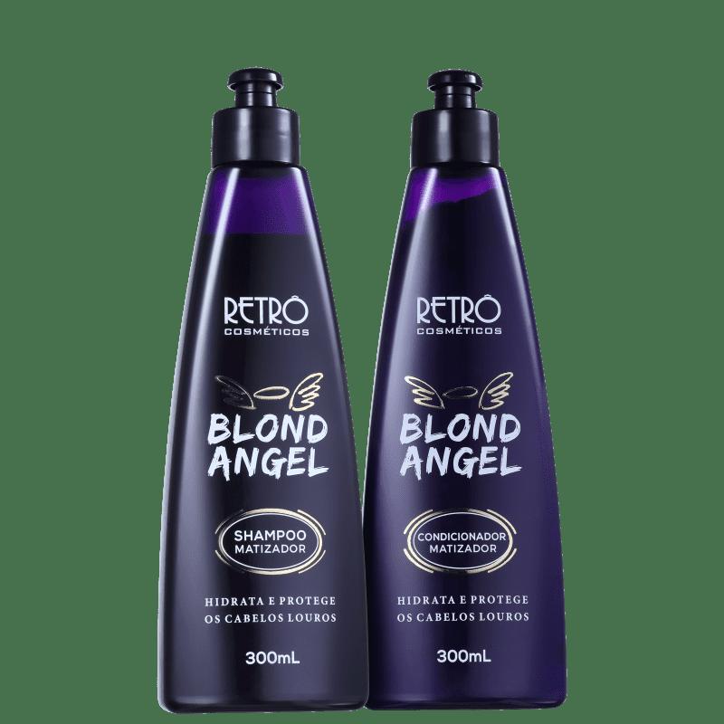 Kit Retrô Cosméticos Blond Angel Duo (2 Produtos)
