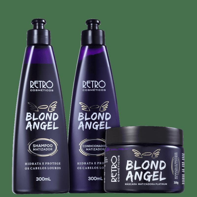 Kit Retrô Cosméticos Blond Angel Trio (3 Produtos)