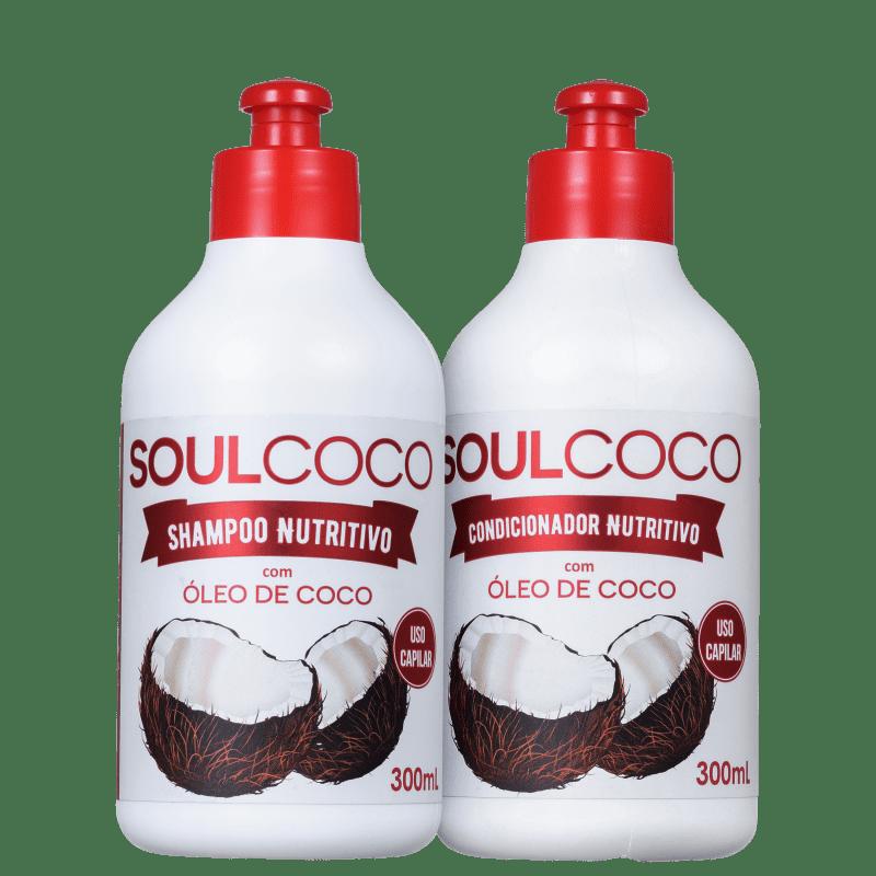 Kit Retrô Cosméticos Soul Coco Duo (2 Produtos)