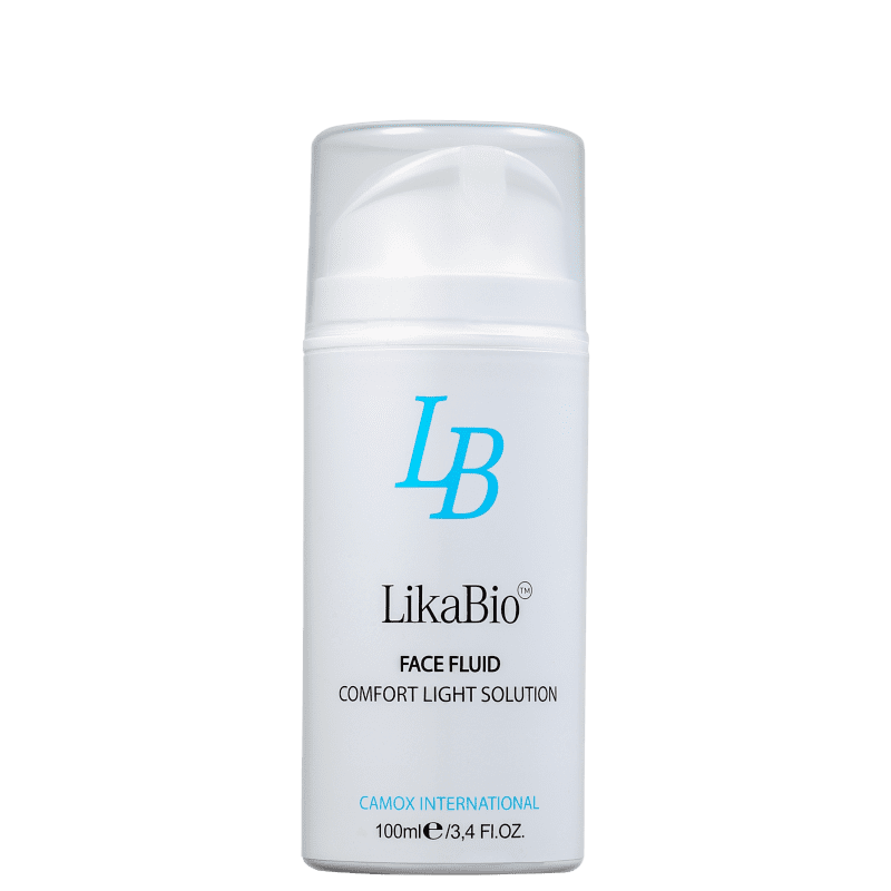 LikaBio Comfort Light Solution - Fluído Hidratante Facial 100ml