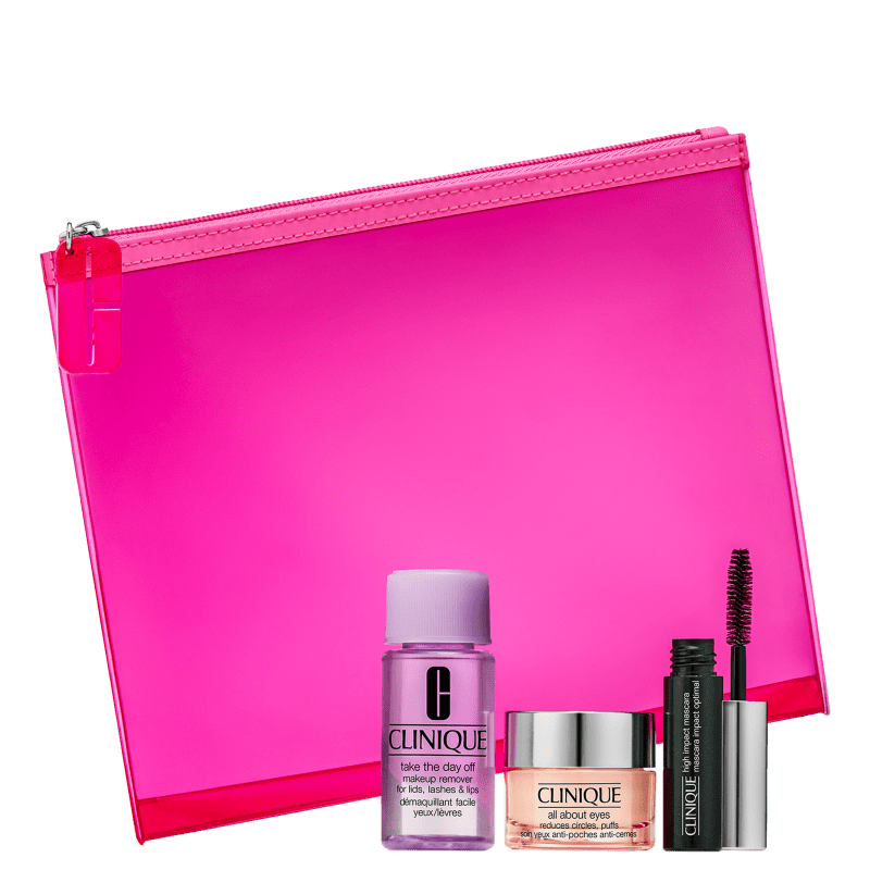Kit Clinique Eye Refresher (3 Produtos + Nécessaire)