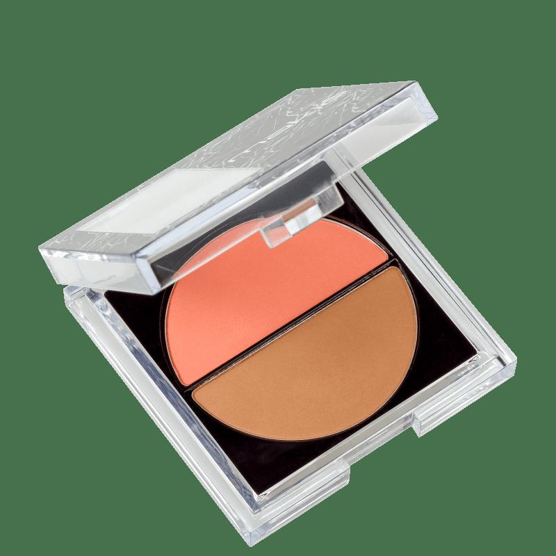 Makiê One Touch Duo - Blush e Bronzer 8g